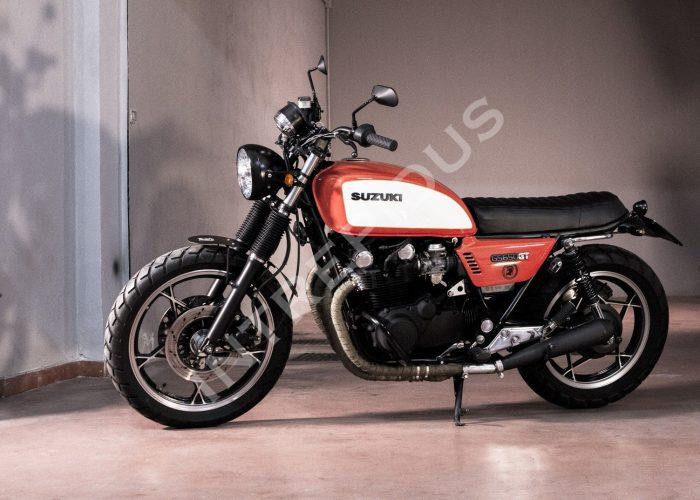 Moto customizzata Suzuki GS 650 GT Spritz Intrepidus